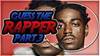 Guess That Rapper (Part 3) 🔥🤘🏽
