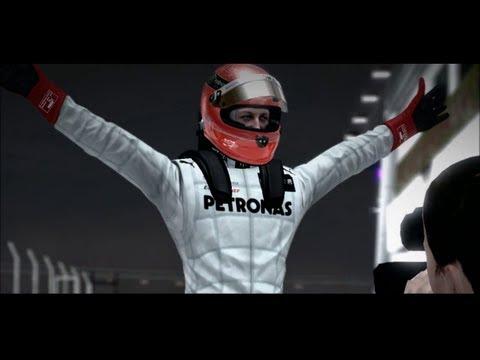 F1 2012 - Michael Schumacher @ Singapore (incl. Replay)