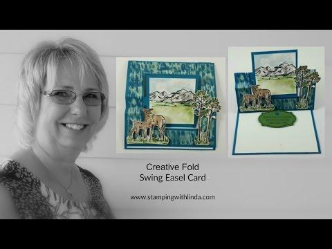 Swing Easel Creative Fold Card