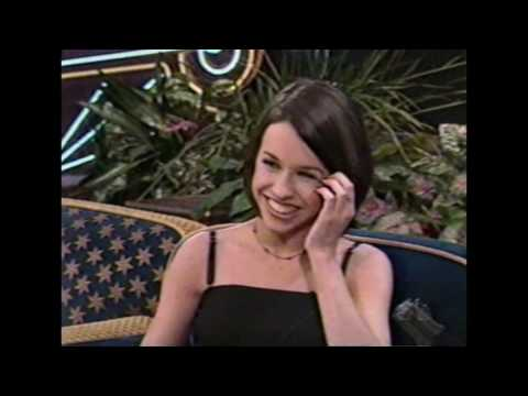 Lacey Chabert Interview - 1998 - Lost In Space - Tonight Show
