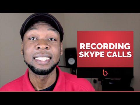 How to record skype voice calls using ecamm call recorder plugin