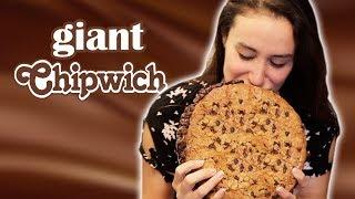 giant ice cream cookie sandwich versus