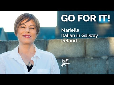 From Italy to Ireland, with the dream to open a restaurant. Mariella's experience abroad. GO FOR IT!