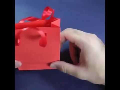 DIY Paper Gift Bag in just 2 Minutes
