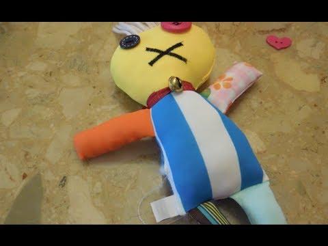 Ugly Cute Doll Sewing Tutorial Voodoo Doll