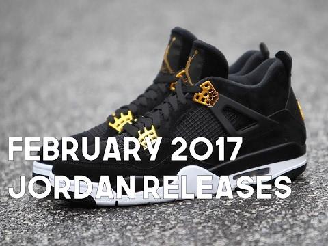 February 2017 Jordan Releases
