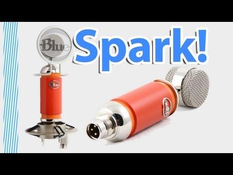 Blue Spark XLR Microphone! -Professional Quality Entry Mic