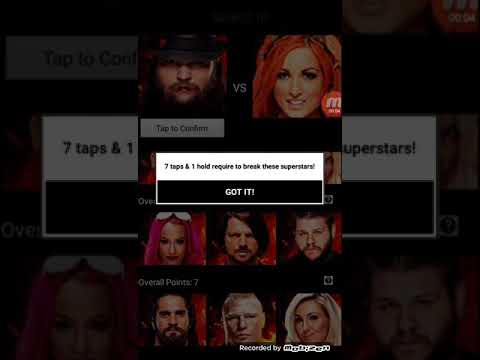 WWE Tapout Android Game Demo Video
