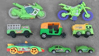 Looking for Some Green Toy Vehicles in an Abandoned Rooftop | Indian Auto Rickshaw, Moto Bike & More