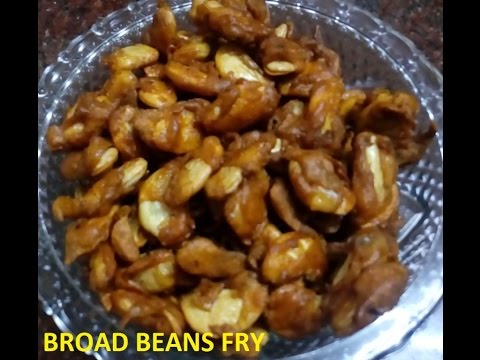 broad beans fry (malayalam)