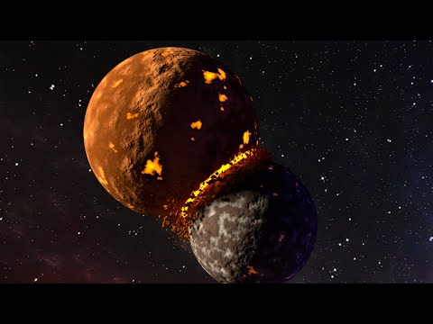 Blender Tutorial: Planets Colliding Animation