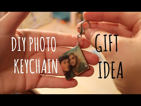 DIY Photo Keychain | Gift Idea