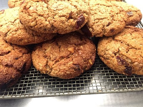 Super galletas de avena y dátiles