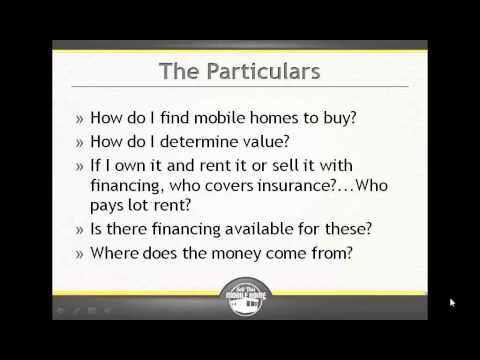 Is Financing Available For Mobile Homes?