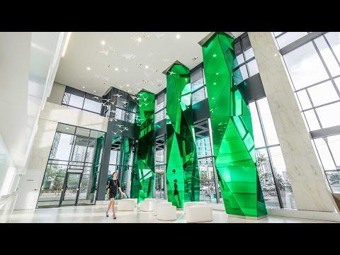 Architecture - Glass Feature
