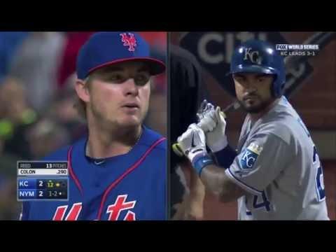 2015 World Series Highlights, Royals vs Mets.