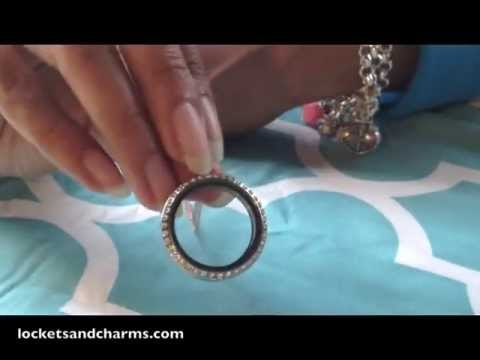 How to Open Your Origami Owl Locket and Switch Out Charms