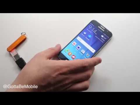 How to Use a USB Drive with the Galaxy S6