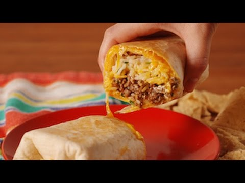 Copycat Taco Bell Quesarito | Delish