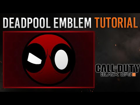 Black Ops 3 - cool & easy Deadpool Emblem Tutorial | very simple