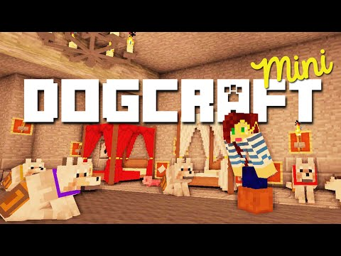 OPENING MY WOLVES' BACKPACKS - DOGCRAFT MINI