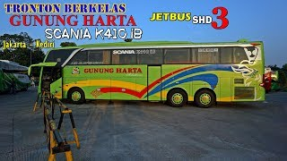 "BUS TRONTON JB3 ter-""JAHAT"" di JAWA.  LIMITER BALAP SUOS. Trip by Gunung Harta Kp. Rambutan - Kediri"