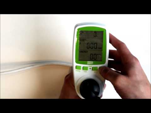 Efergy Power Monitoring Socket - Understand your electricity use and consumption