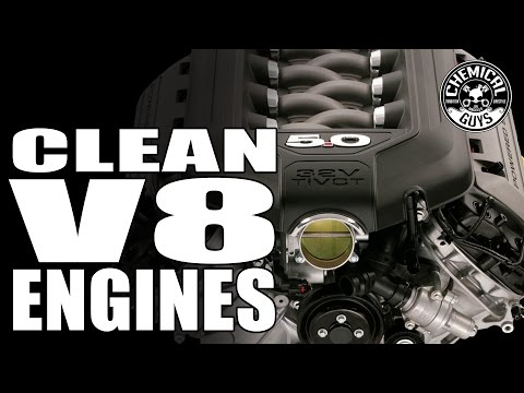 How To Clean A V8 Engine - Chemical Guys Car Care