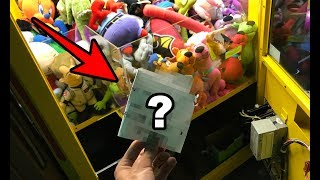 SOMEONE LEFT ME THIS AT MY ARCADE! + Filling My Claw Machine!!! | JOYSTICK
