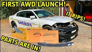 Rebuilding A Wrecked 2018 Dodge Charger Police Car Part 2