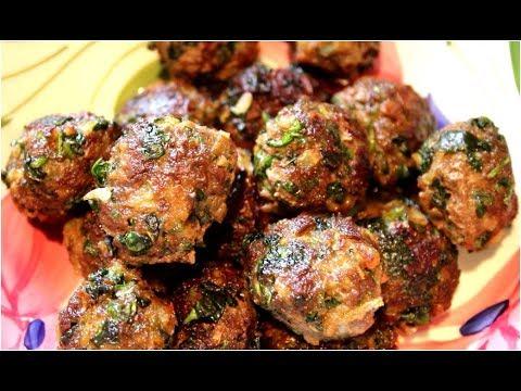 Easy Meat Balls (keema bora)