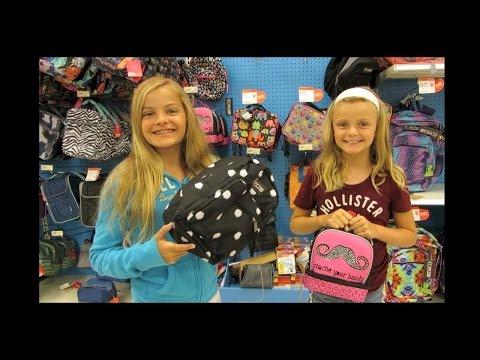 School Supply Shopping 2014 ~ Jacy and Kacy