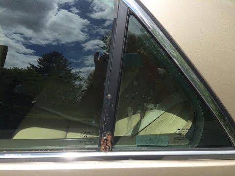Replace Rusty Rear Door Quarter Sash 2003 Honda Accord EX V6