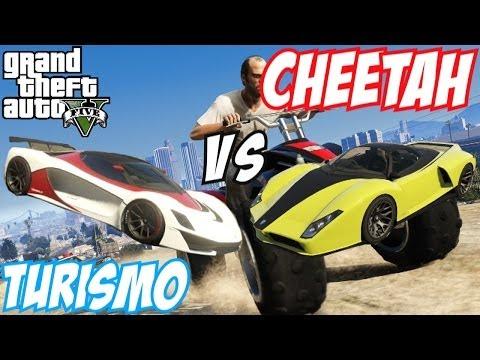 GTA 5 - Grotti Turismo R Vs Grotti Cheetah | #21 (GTA V)