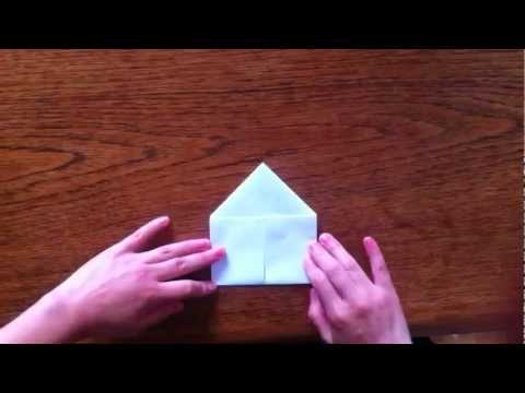 Origami love heart using A4 size paper