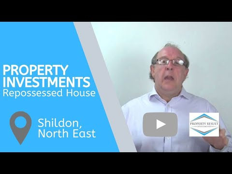 Property Investments in Shildon, North East – Repossessed Houses for Sale Shildon, North East
