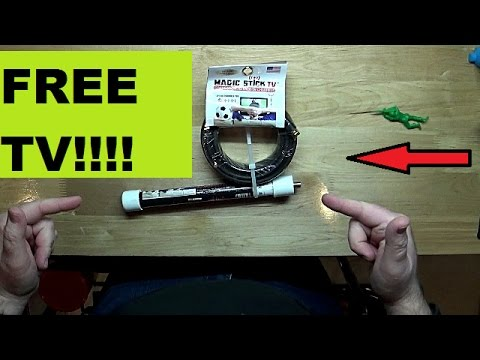 Magic Stick TV Antenna | Does it Work???