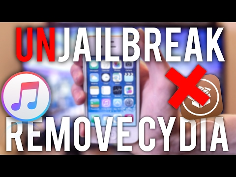 How to Unjailbreak ANY iPhone!   unjailbreak iOS7.1.1 iphone 4