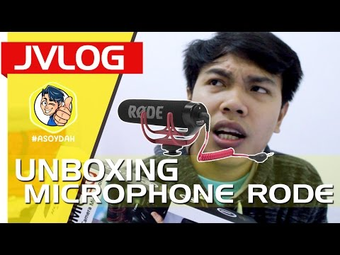 UNBOXING RODE VIDEO MIC GO AND TESTING SOUND | JVLOG