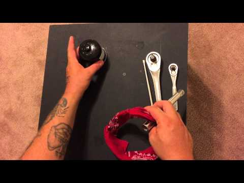 How to make a quick & easy oil filter wrench