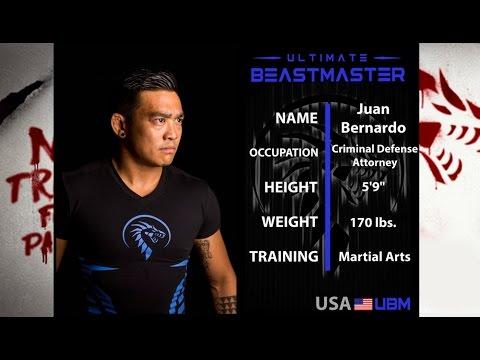 Netflix Ultimate Beastmaster Episode 4 - Juan Mob Team USA Interview (BJJ & Lawyer Athlete)