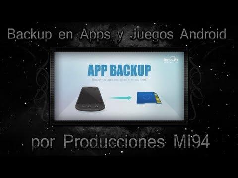 Como Hacer un Backup de APPS en Android (No Root, Root) /MiSoTa94/