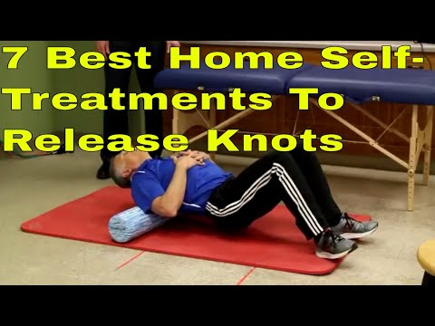 7 Best Home Self-Treatments To Release Knots From Shoulders, Upper Back, & Trapezius