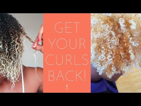 How to Repair Damaged Natural Hair | Rebuild Bleached Hair w/ Aphogee 2-Step Protein Treatment