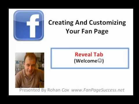 How To Make A Reveal Tab For Your Facebook Fan Page