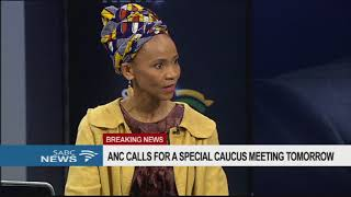 Lebohang Pheko reacts to ANC