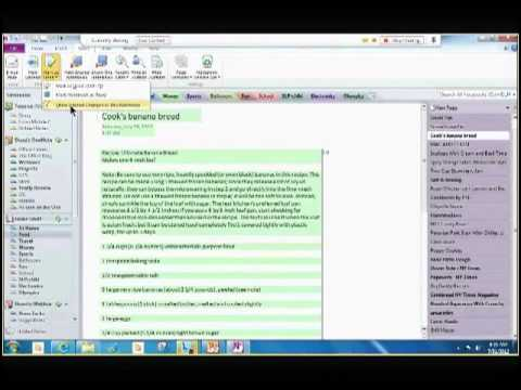 Microsoft OneNote 2013 - Advanced Features Webinar  - via EPC Group's YouTube Channel