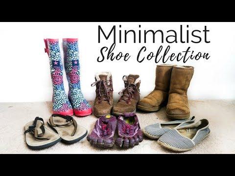 Minimalist Shoe Collection | Journey To Minimalism