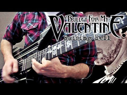 RAISING HELL (Solo + Tab) - BULLET FOR MY VALENTINE (Cover) - JOAN MANUEL DEFELIPPE