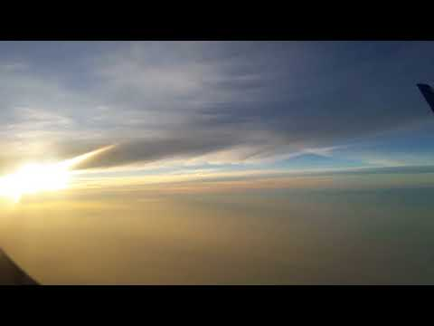 beautiful sun rise from airplane.. must see..
